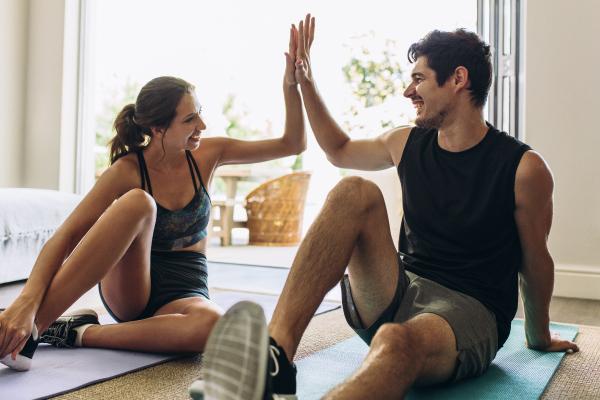 Motivantes para hacer ejercicio en casa