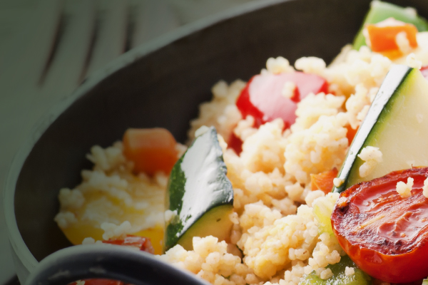 Cruscrús con verduras