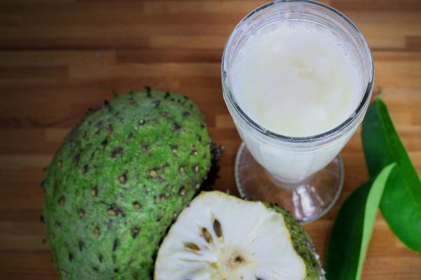 smoothie de guanábana
